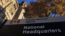 The Canada Revenue Agency headquarters in Ottawa is shown on November 4, 2011. (Sean Kilpatrick/THE CANADIAN PRESS)