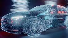 Audi Canada had added effects such as wind, scent, and theatre-seat motion to this ad that ran at a Cineplex theatre in Toronto. (Audi Canada)
