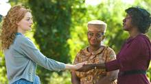 From left, Emma Stone, Octavia Spencer and Viola Davis star in the The Help. (Dale Robinette/Dale Robinette/AP)