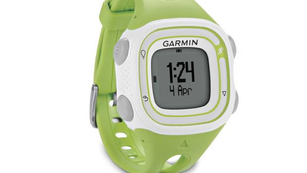 Garmin Forerunner 10: This entry-level GPS watch is lighter and less expensive than other models and comes in classic black as well as on-trend pink and green. Use it to track distance, speed/pace and calories burned, to help you stay on target pace or to guide you through timed run/walk intervals. Upload runs to the Garmin Connect community to track them over time and analyze your progress. $129.99 at running stores including Running Room. (GARMIN)