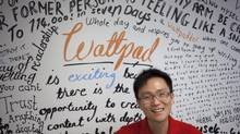 Wattpad co-founder Allen Lau has created a site where users can follow their favourite writers, share with friends and be notified every time a new chapter is added to a story they are reading. (Pawel Dwulit For The Globe and Mail)
