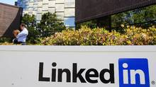 LinkedIn head office in Mountain View, Calif. (Paul Sakuma/AP)