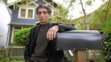 Physician Gabor Mate stands outside his home in Vancouver, Nov. 9, 2011. (Jeff Vinnick for The Globe and Mail/Jeff Vinnick for The Globe and Mail)