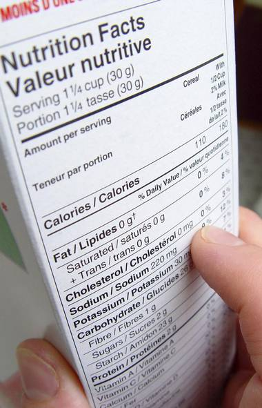 The nutrition facts panel: The ground zero of nutrition labelling, nutrition facts panels are mandatory on virtually all prepackaged foods sold in Canada. (iStock)