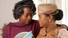 "Octavia Spencer (right) and Viola Davis in a scene from ""The Help."" (Dale Robinette/AP)"