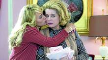 """Catherine Deneuve in a scene from the French film """"Potiche"""" (Handout)"""