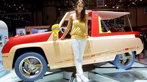 Rinspeed Bamboo car