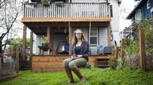 Lindsay Kaisaris says she brings in about $3,000 a month by renting rooms through Airbnb. (Rafal Gerszak for The Globe and Mail)