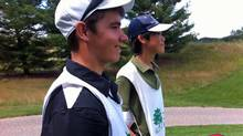 Caddy's Matt Reeves and Jihun Yu