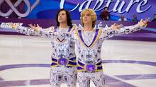 "Will Ferrell and Jon Heder in ""Blades of Glory,"" a hit movie that one investor says it never saw any income from. (Dreamworks)"