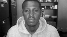 Hanad Mohamed, the second man arrested (in Fort McMurray) in the Anthony Smith murder. (United Protection Services)