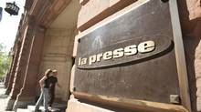 La Presse offices in Montreal. (Paul Chiasson/The Canadian Press)