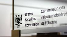 The Toronto office of the Ontario Securities Commission is seen in this file photo. (Fred Lum/The Globe and Mail)