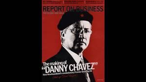 The infamous ROB Magazine cover depicting Newfoundland-Labrador Premier, Danny Williams, as