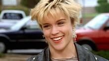 Emily Valentine, played by Christine Elise McCarthy, had a more alternative look than others on Beverly Hills, 90210, says Jason Priestley.