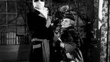 Claude Rains and Gloria Stuart starred in a movie version of The Invisible Man.