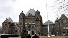 The provincial legislature at Queen's Park in Toronto. (Deborah Baic/Deborah Baic/The Globe and Mail)