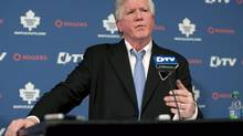 Toronto Maple Leafs General Manager Brian Burke (Chris Young/The Canadian Press)