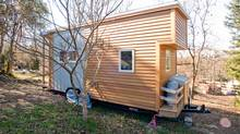 The tiny portable $30,000 (U.S.) house. (Courtesy of Alek Lisefski)