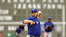 Toronto Blue Jays starting pitcher Mark Buehrle (Charles Krupa/AP)
