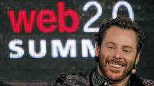 Napster founder and former Facebook president Sean Parker speaks during the Web 2.0 Summit in San Francisco, California October 17, 2011. REUTERS/Robert Galbraith (© Robert Galbraith / Reuters)