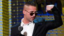 "Michael ""The Situation"" Sorrentino appears onstage at the Comedy Central Roast of Donald Trump in New York. in March, 2011. (Charles Sykes/CHARLES SYKES/AP)"