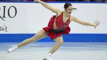 Kaetlyn Osmond skates in the senior women's long program at the Canadian National Figure Skating Championships in Mississauga, Ontario January 19, 2013. (Fred Thornhill/REUTERS)