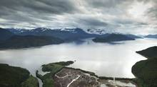 The Douglas Channel, near Kitimat, B.C., leads to the Pacific Ocean (JOHN LEHMANN/The Globe and Mail)