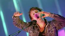 Thom Yorke of Radiohead in performance (SEBASTIAN WIDMANN/EPA)