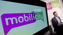 Mobilicity announced on Friday that president and CEO Dave Dobbin was leaving the company and was being replaced by chief operating officer Stewart Lyons and chairman John Bitove, pictured, who was moving into an executive chairman role that would see him take more of a hand in day-to-day management of the company. (Peter Power/The Globe and Mail)