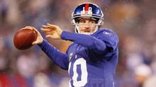 New York Giants quarterback Eli Manning set an NFL record this year for most fourth-quarter touchdown passes. (Jim O'Connor/US PRESSWIRE/Jim O'Connor/US PRESSWIRE)