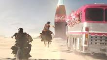 A still from Coca-Cola's 60-second television spot that started airing Jan. 22.