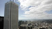 The west looking view from the 50th floor of the Bay-Adelaide Centre (J.P. MOCZULSKI)