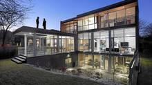 The Mississauga home designed by architects Melana Janzen and John McMinn has an urban vide in a suburban setting. (Shai Gil/Shai Gil)