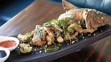 If you're with a group, you should order the whole-fried trout. (Danielle Matar for The Globe and Mail)