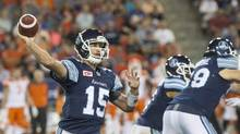 Toronto Argonauts quarterback Ricky Ray feels 'pretty good' after recovering from a fractured rib and punctured lung. (Chris Young/The Canadian Press)