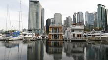 Coal Harbour Marina in downtown Vancouver in October 2011. (Laura Leyshon for The Globe and Mail)