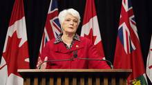 Education Minister Liz Sandals said the government is meeting with families to 'explore ways to provide effective programs and services that will best support achievement and well-being.' (Matthew Sherwood For The Globe and Mail)