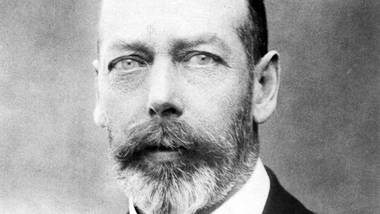 A portrait of King George V, King of Great Britain and Ireland, Emperor of India (1910-1936).