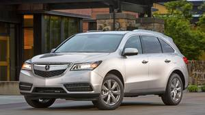 The weird angles and edges that dominated the old MDX have been tamed in the 2014 model.