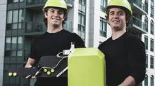 The Sobotkas started Mississauga, Ont.-based FTD Highrise Inspection, and hired some engineers to build a robot armed with a digital camera