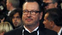 """Director Lars Von Trier arrives on the red carpet for the screening of the film """"Melancholia"""" in competition at the 64th Cannes Film Festival, in this May 18, 2011 file photo. (JEAN-PAUL PELISSIER/Reuters)"""