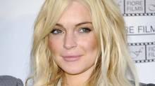 Lindsay Lohan in April 2011 (Evan Agostini/AP)