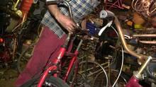 Bike repair shop in Toronto's Kensington Market in 2003. (Louie Palu/The Globe and Mail)