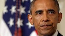 U.S. President Barack Obama addresses reporters at the White House, Thursday Aug. 7. (Charles Dharapak/AP)
