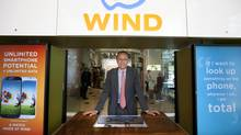 Pietro Cordova, CEO of Wind Mobile, is pictured at the Queen's Quay store in Toronto in 2013. (Deborah Baic/The Globe and Mail)