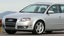 2005 Audi A4. (Audi)
