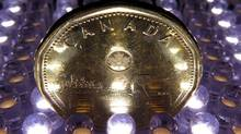 The Canadian dollar strengthened on Wednesday to a 1-week high against its U.S. counterpart.