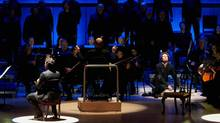 TSO altered the traditional concert-going experience with innovative staging for Mozart's Requiem Thursday at Roy Thomson Hall. (Malcolm Cook)