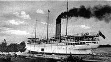 Canadian Pacific Railway Steamer Keewatin leaving Port McNicoll, Ontario. (Hand-out/SKYLINE INTERNATIONAL)